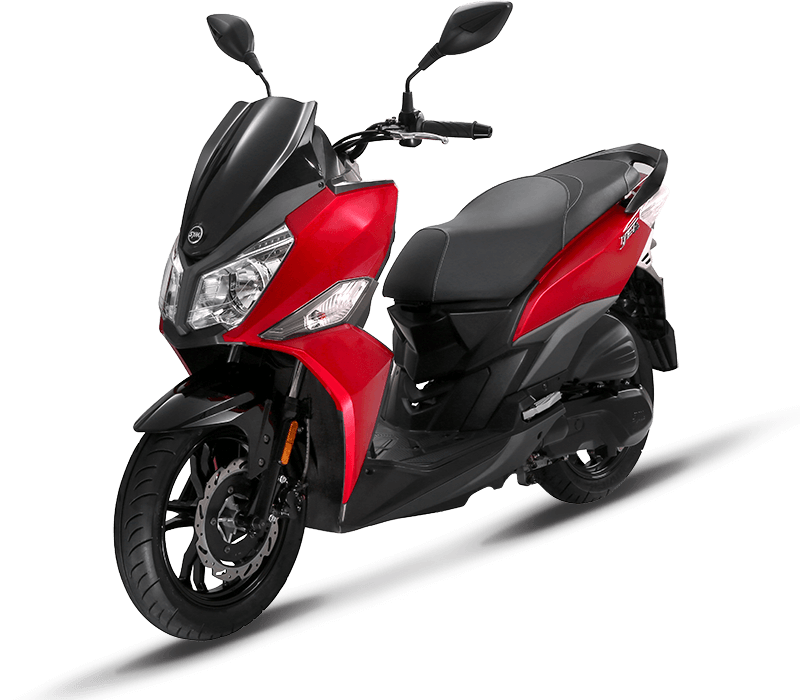Jet 14 125i E4 Scooter | Red