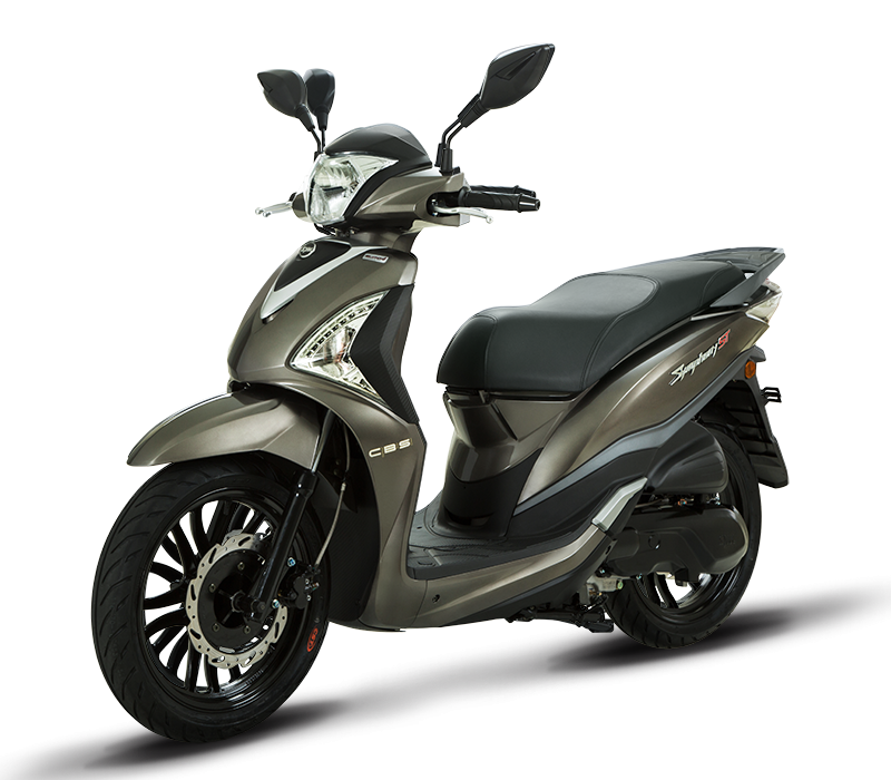 Symphony ST 125i Liquid Scooter | Brown