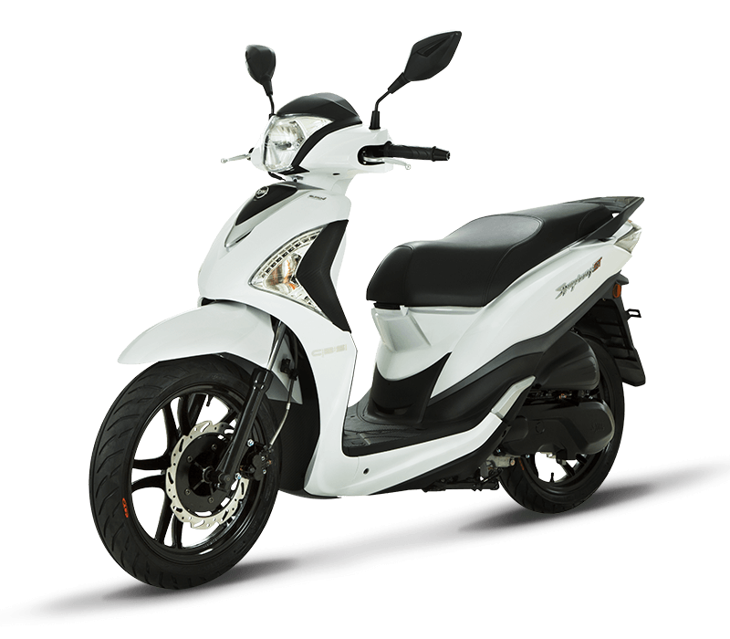 Symphony ST 200i Fuel Injected Scooter | White