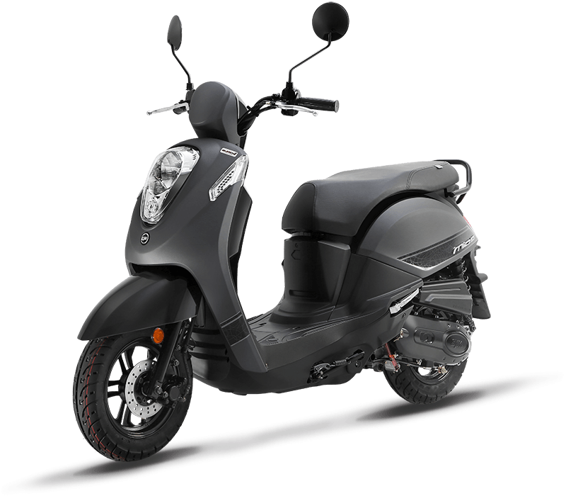 MIO 115 Scooter (Mat Grey)
