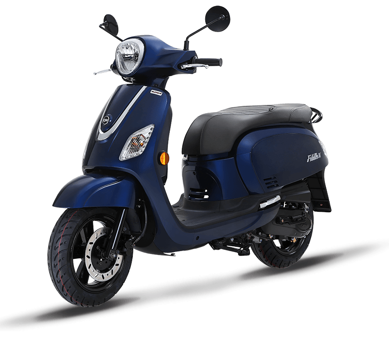 Fiddle III 125i Scooter (Dark blue Color)
