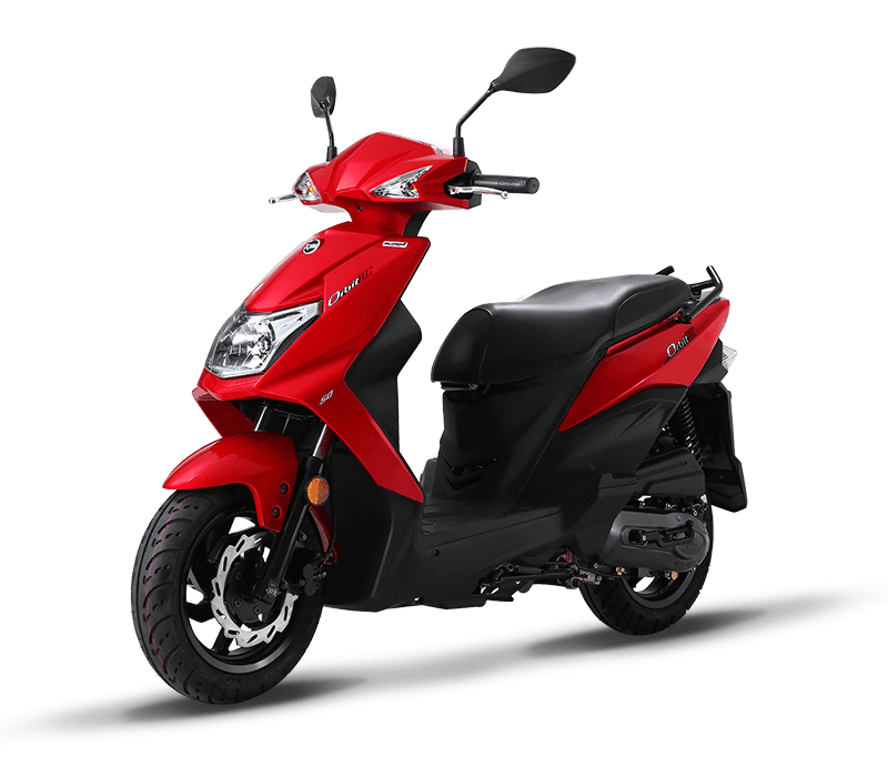 Orbit III/MASK 125CC Scooters | Red