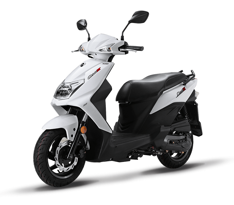 Orbit III/MASK 125CC Scooters | White