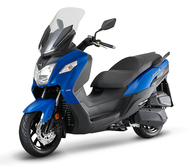 JOYMAX Z 125 Scooter l Mat Blue/Black