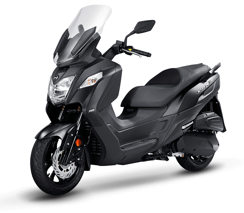 JOYMAX Z 125 Scooter l Mat Black