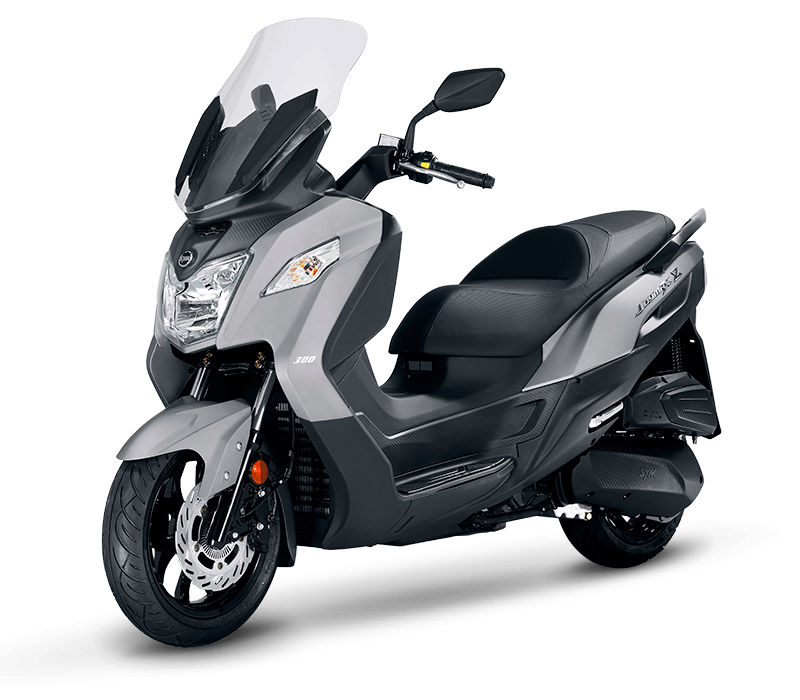 JOYMAX Z 125 Scooter l Light Mat Grey