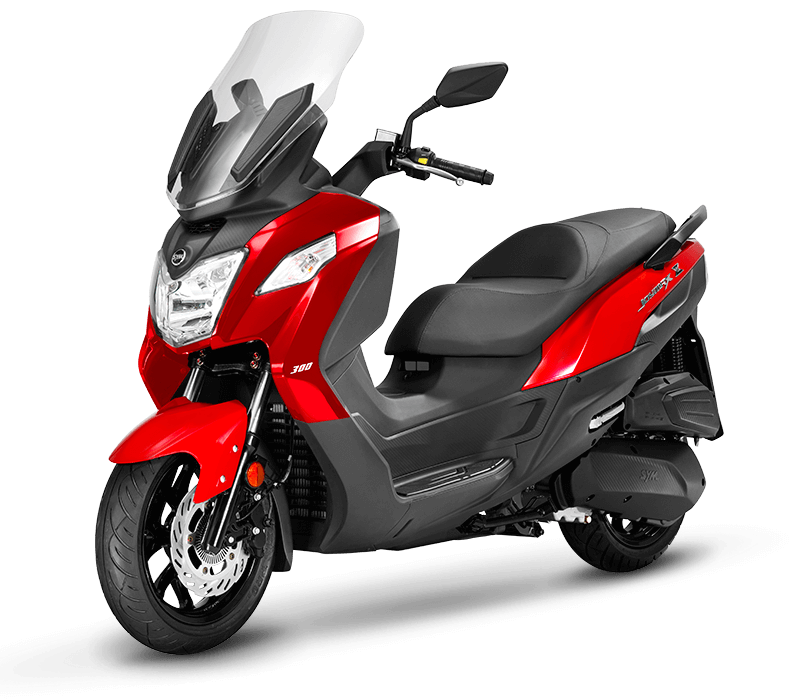 JOYMAX Z 125 Scooter l Red/Black