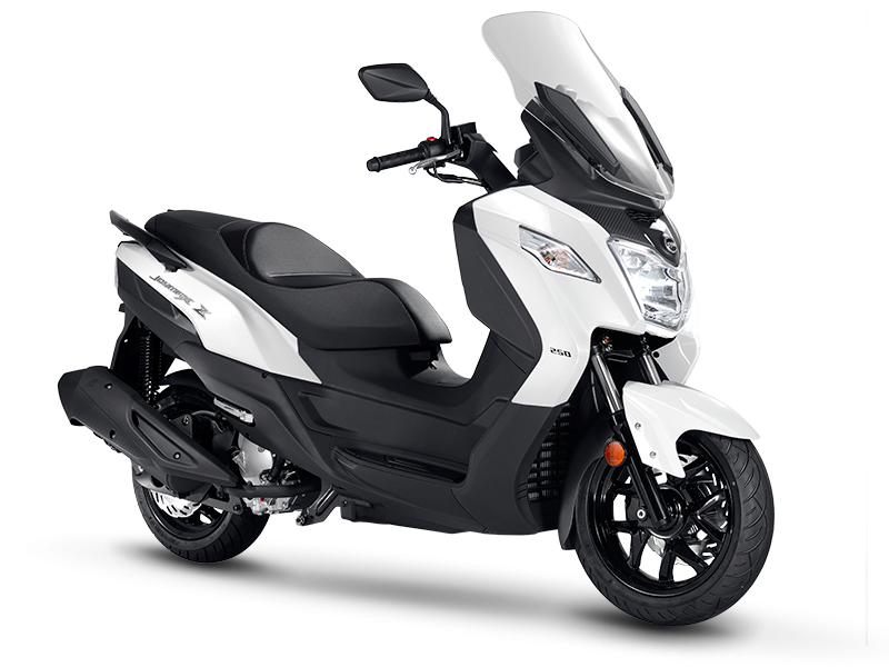 JOYMAX Z 125 Scooter - White