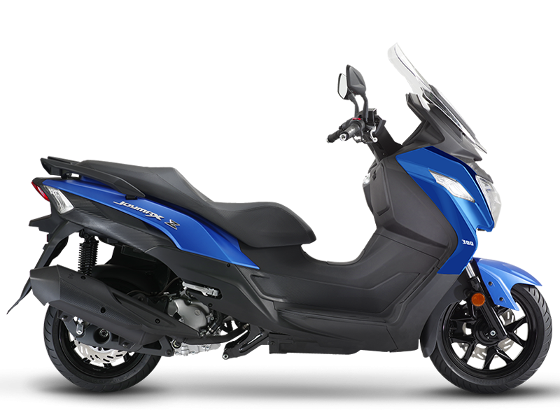 JOYMAX Z 125 Scooter - Mat Blue/Black