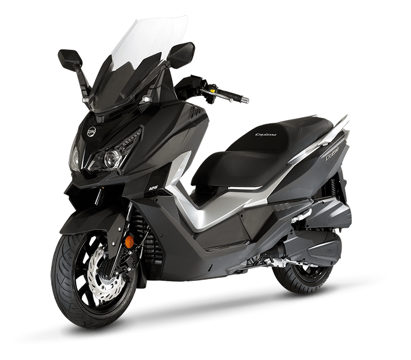 CRUiSYM 300i Scooter | MAT-BLACK