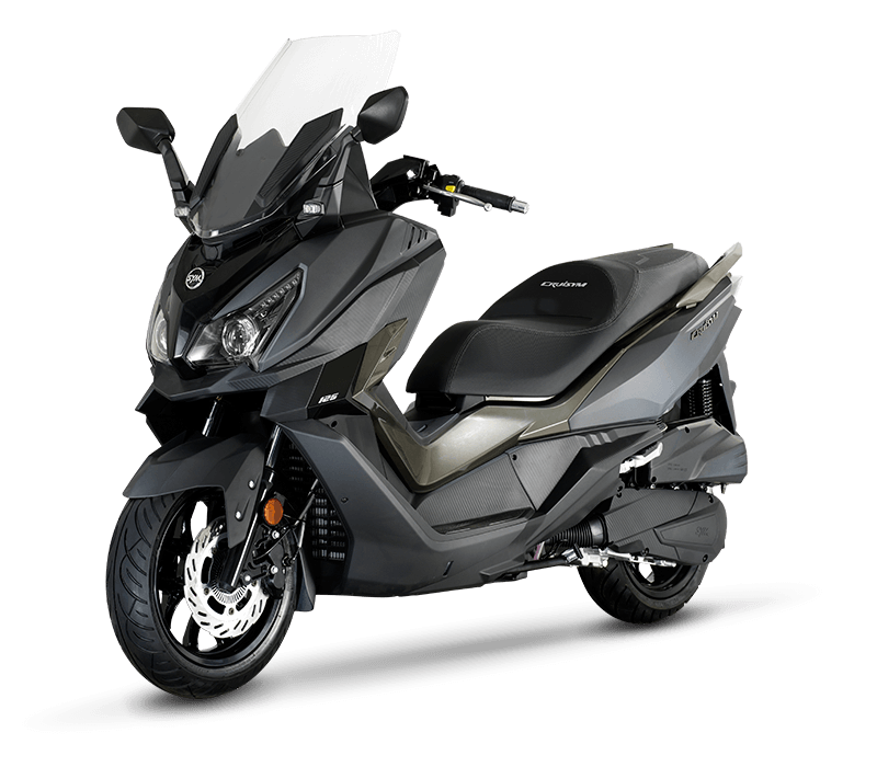 CRUiSYM 300i Scooter | MAT-GREY