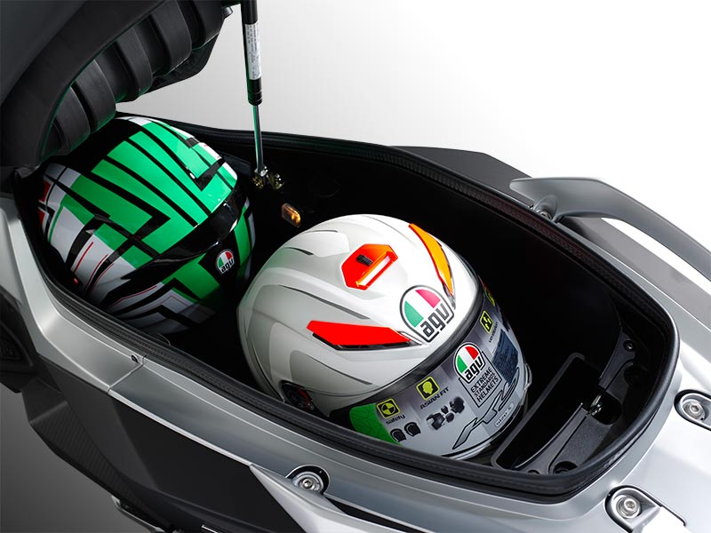 Luggage box fit For two full-face helmets