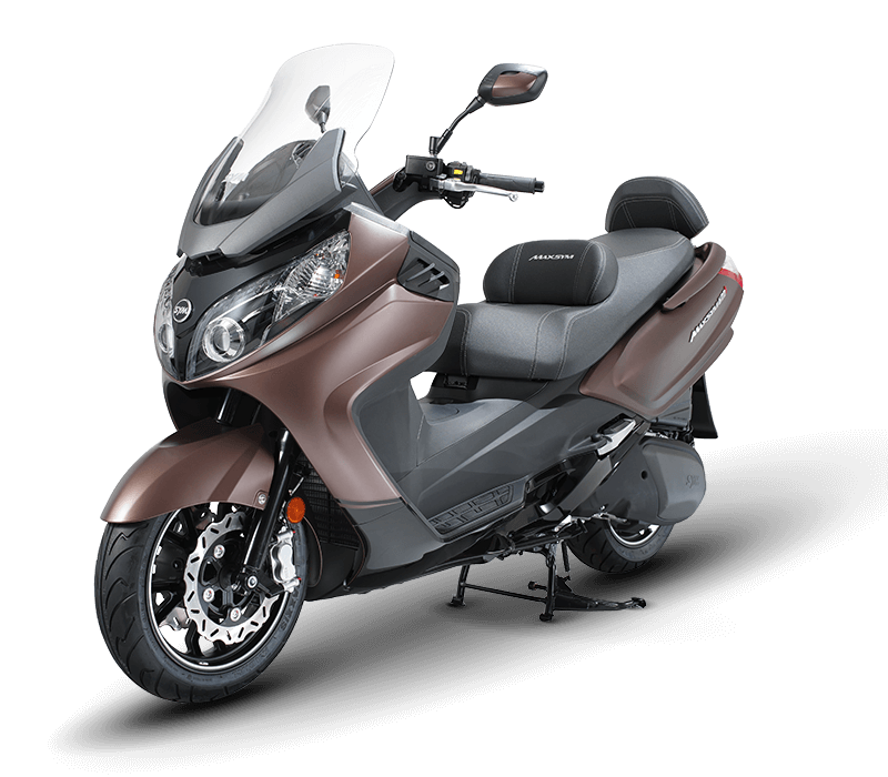 Maxsym 400i Scooter | Brown/Black