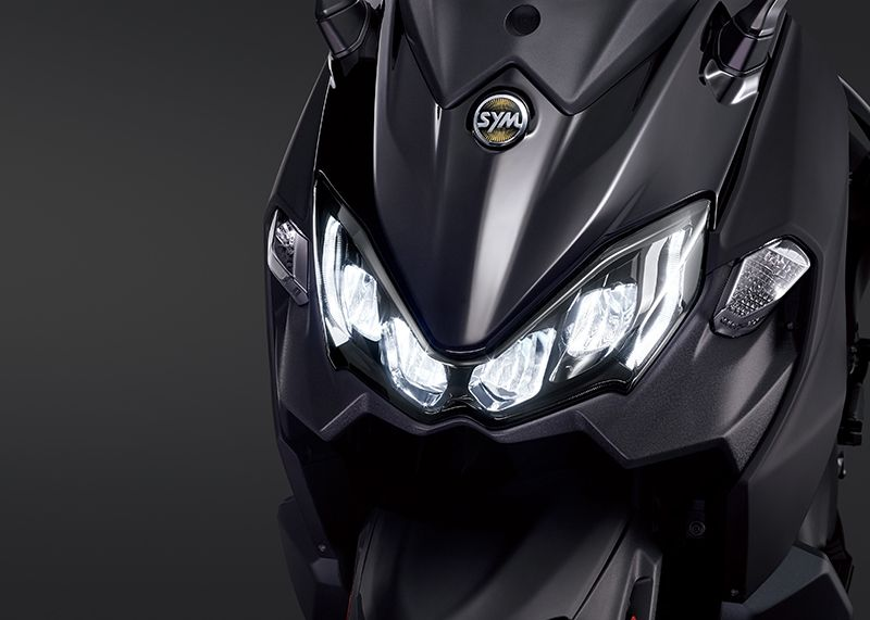 Four Reflective LED Headlights