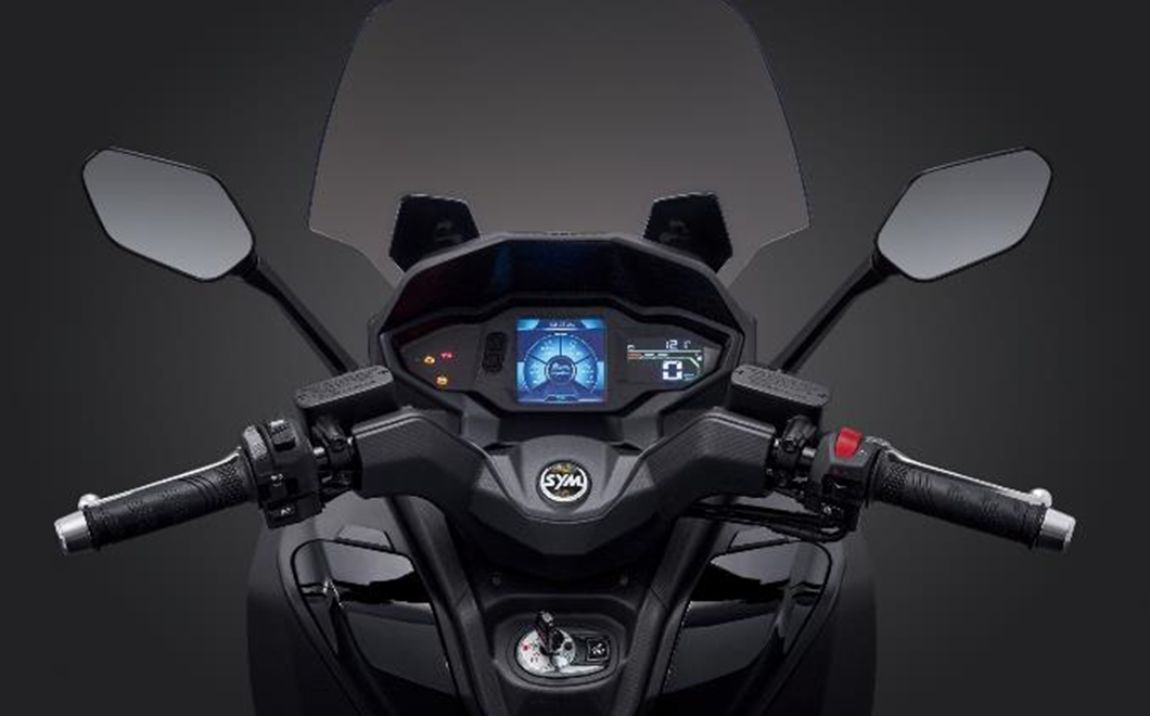 Sportbike Style Foldable Back Mirrors