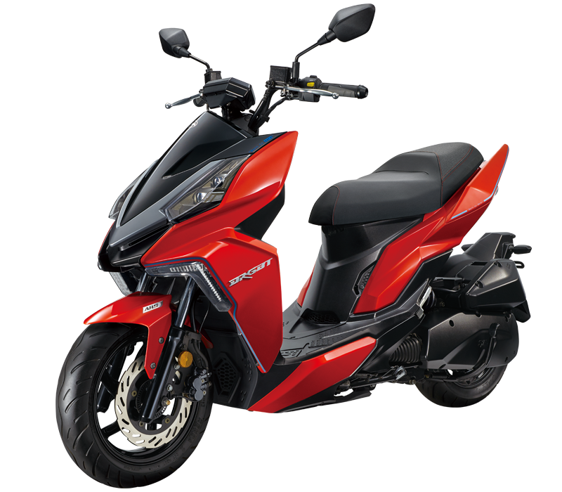 DRG 160 Scooter l Red