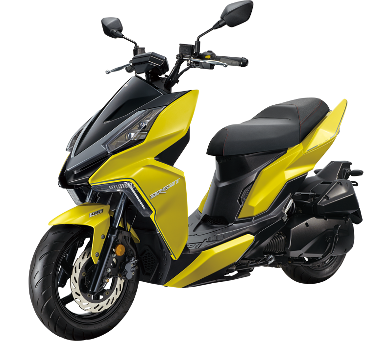 DRG 160 Scooter l Yellow